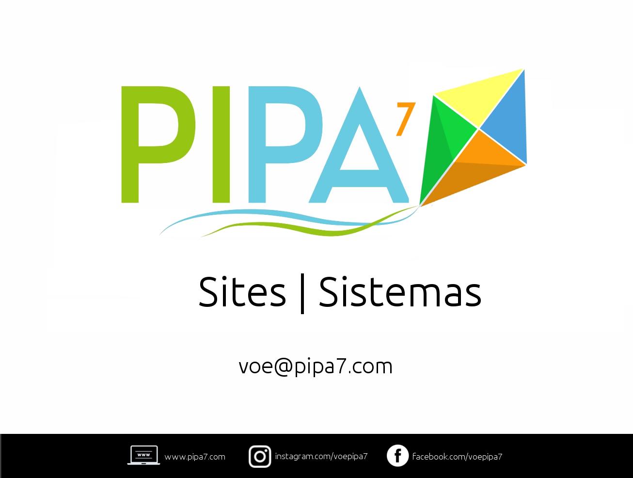 Pipa7.com | Sites e Sistemas