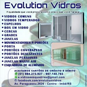 Evolution Vidros